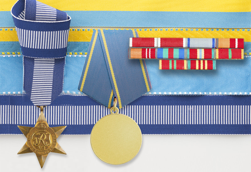 ribbons for military medals